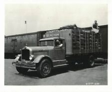 1932 White Stake Truck Model 630 R Beacham Boston MA Reprint Photo