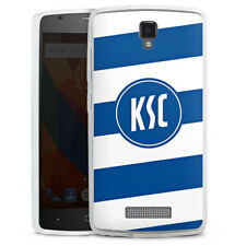 ZTE Blade L5 Silikon Hülle Case Handyhülle - KSC Logo gestreift