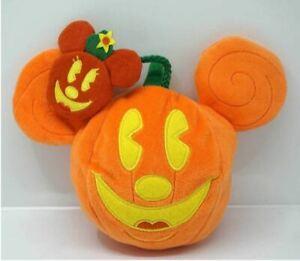 Tokyo Disney Resort Halloween pumpkin ghost Mickey Plush pouch candy case