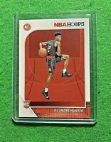 DE'ANDRE HUNTER HOOPS ROOKIE CARD ATLANTA HAWKS 2019-20 NBA HOOPS BASKETBALL RC