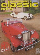 Classic Cars magazine 01/1981 featuring MG, Reliant Scimitar GTE, Crosley