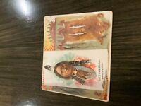 1888 N36 Allen & Ginter The American Indian Sitting Bull Dakota Sioux