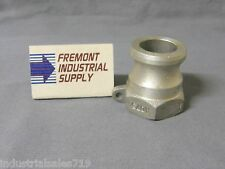 """1"""" cam lock cam & groove A-100 100-A male coupling fitting"""