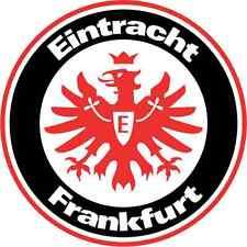 "Eintracht Frankfurt Germany Soccer Football Car Bumper Sticker Decal 5"" x 5"""