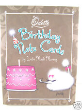 Odette Birthday Cards Fluffy Poodles Beautiful Art Images Box of 12 Cards New