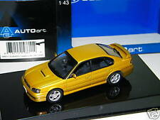 AUTO ART - SUBARU LEGACY B4 1999 GOLD