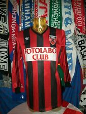 Maglia Calcio Neuchatel Xamax Home 1987-88 Match Worn Adidas Fotolobo Swiss