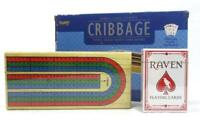 2006 Fundex Triple Track Cribbage Game Folding Board Cards No 5385