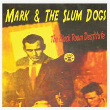 MARK & THE SLUMDOGS Black Room Destitute CD psychobilly rockabilly THE CARAVANS