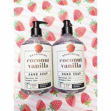 2 Apothecary Thyme Coconut Vanilla Hand Soap 21.5