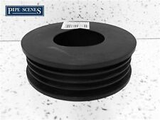 Rubber Rainwater Pipe Adaptor to Drain Pipe Round or Square 68mm 65mm - 110mm
