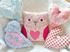 5 Cushion Kit Patchwork Sewing Craft Kit Easy Hand or Sewing Machine Project!
