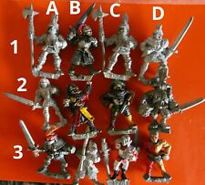 12x MM60 fighter F30 warrior empire Marauder gw miniatures oldhammer fighters
