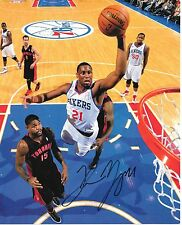 Thaddeus Young Philadelphia 76ers Autographed Picture