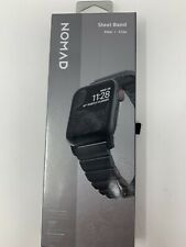 Nomad Stainless Steel Band Strap for Apple Watch 5 4 3 2 42mm / 44mm - Black
