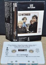 U2        - OCTOBER -                                         Cassette Tape