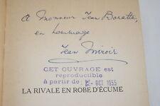 LA RIVALE EN ROBE D'ECUME JEAN MIROIR ENVOI SERVICE DE PRESSE