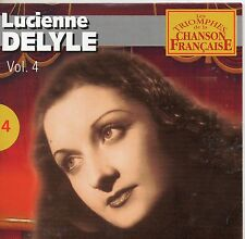 CD CART 25T LUCIENNE DELYLE DANS MON COEUR /  NUAGES  DE 2001  NEUF NON SCELLE