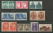 SOUTH  AFRICA SG88-96 THE 1941-6 GVI SET OF 9 MOUNTED MINT CAT £70