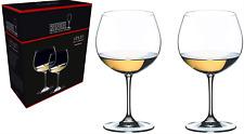 RIEDEL Vinum Oaked Chardonnay (Montrachet) Wine Glasses SET OF 2 BRAND NEW