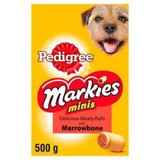 Pedigree Markies Minis Meaty Roll Marrowbone Dog Treats 500g