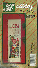 """""""JOY TO THE WORLD - BELL PULL"""" - Vintage Counted Cross Stitch Kit"""