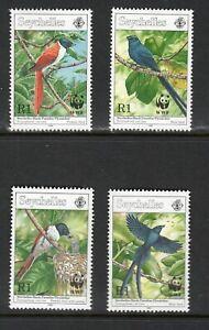 Seychelles 1996 Paradise Flycatcher Paradiesschnäpper Terpsiphone corvina