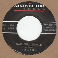 Lee Moses Bad Girl PT2 Musicor 2nd Soul Northern Motown