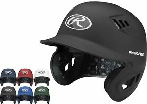 Rawlings CFABH Velo Alpha Matte Adult Baseball Batting Helmet Various Colors
