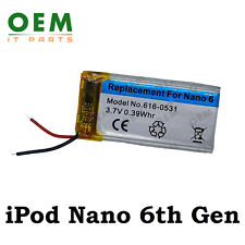 For Apple iPod Nano 6 6th Gen Generation 616-0531 Replacement Battery 220mAh New