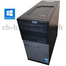 DELL OPTIPLEX 790 INTEL CORE I7 4-CORE 3.40 GHZ 8GB DDR3 RAM 500GB HDD DVD WIN10