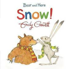 Bear and Hare: Snow!, Gravett, Emily, Very Good condition, Book