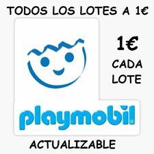 playmobil LOTES A 1 EURO, ACTUALIZABLE,,ELIGE TU LOTE EN LIQUIDACION  -1€ CADA -