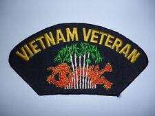 US FORCES VIETNAM VETERANS BASEBALL CAP CLOTH PATCH.