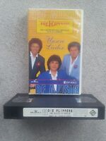 "DIE FLIPPERS ""UNSERE LIEDER"" ORIGINAL ZDF  VHS VIDEO TAPE 14 SONGS !"