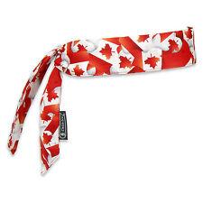 Ergodyne Chill-Its 6700 Evaporative Cooling Bandana - Canadian Flag 12 / Case