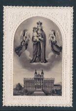 Spitzen-Heiligenbild Maria mit zwei Engeln  (HB4)