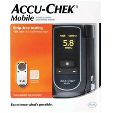 ACCU-CHEK MOBILE BLOOD GLUCOSE MONITOR STRIP FREE TESTING DIABETES