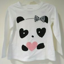 Bnwt Macy's First Impressions Panda Top Girl's Size 3T