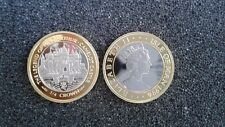 1996 Isle of Man 1/4 Crown Bi-Metallic Proof Pt and Au  Legend Of King Arthur