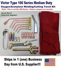 VICTOR TYPE 100FC CUTTING/WELDING TORCH KIT WITH TIPS AND ACCESSORIES !!!