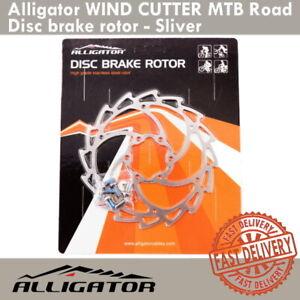 Alligator Disc Brake Rotor WIND CUTTER MTB Bike Road -140mm/160mm/180mm/203 mm