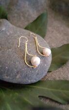 HANDMADE! Genuine Pearl Earrings 20081