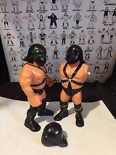 WWF WWE HASBRO X3 personalizzato Demolizione CASCHI ACCESSORI