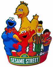 SESAME STREET ELMO BIG BIRD FANCY PARTY HATS - PARTY SUPPLIES - PACK OF 8