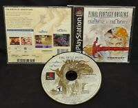 Final Fantasy Origins I + II Playstation 1 2 PS1 PS2 Game Rare Tested Squaresoft