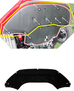 Under Engine Radiator Mud Cover Splash Shield For 2018 2019 Sonata NON SPORT HYB