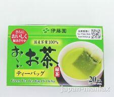 ITOEN Oi Ocha Green Tea 20 Bags Matcha Blended Instant Ryokucha Sencha JAPAN F/S