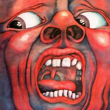 KING CRIMSON In the Court of the Crimson King BANNER HUGE 4X4 Ft Fabric Poster