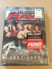 WWE - The Best Of Raw 1993-2008 15th Anniv. Wal-mart Exclusive Sealed DVD OOP